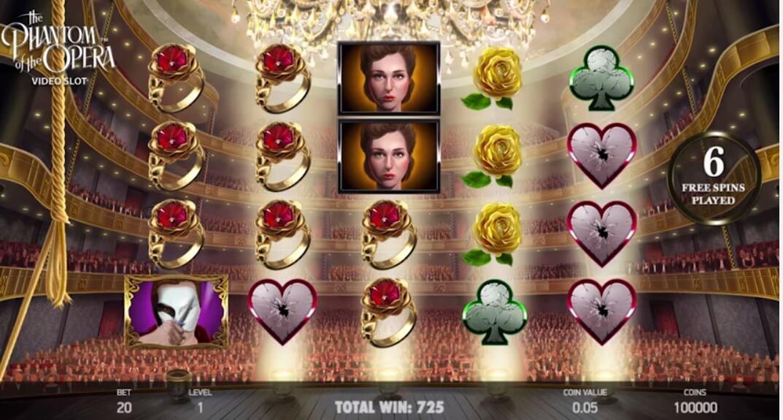 Phantom Of The Opera No Download Slot Machine Online